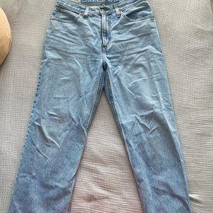 Levi's Dad Jeans Light Wash Sz 28